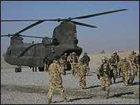 UK forces in Helmand