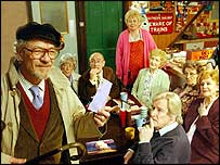 Sir Ian McKellen in Coronation Street