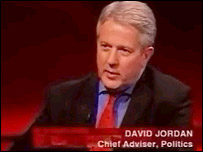 BBC chief political adviser David Jordan