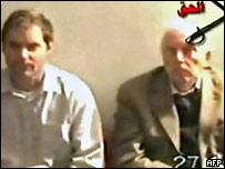 Video shown on Al-Jazeera