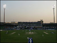 Floodlights in Lahore