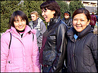 Women in Almaty - archive image
