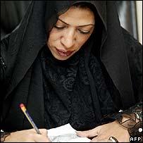 Saudi designer Hanan al-Madani, candidate in Jeddah election