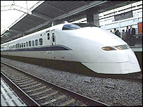 Shinkansen (file photo)