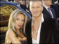 Victoria and David Beckham