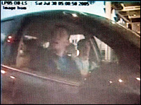 CCTV image of Michael Barton and Paul Taylor at Dover