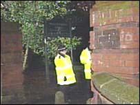 Police at McGoldrick Park