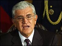 Alfredo Palacio, nuevo presidente de Ecuador