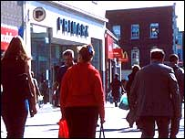 Primark store in Southampton