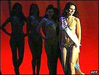 Miss France 2004 Laetitia Bleger