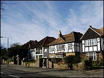 Esher in Surrey