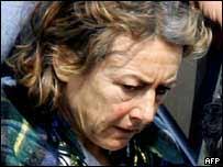 La periodista italiana Giuliana Sgrena