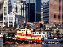 Boston harbour