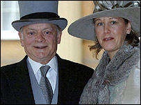Sir David Jason and his partner Gill Hinchcliffe