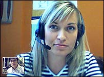 Video phone call on Skype