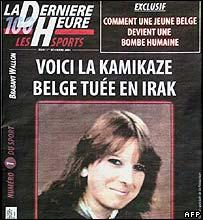La Derniere Heure front page