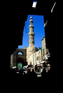 Cairo minaret