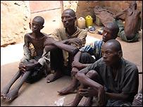 Congolese prisoners (Monuc)