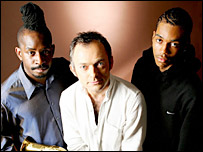 Jazz musician Jason Yarde, conductor Charles Hazlewood and grime producer DaVinChe