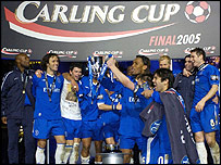 Chelsea - Carling Cup winners 2005