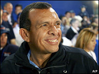 Porfirio Lobo of the ruling National Party