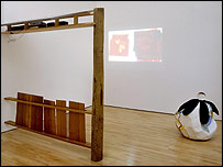 Christina Mackie's installation. Photo: Courtesy the ICA and Marcus Leith