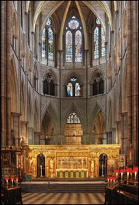 Altar - Pic supplied by Westminster Abbey