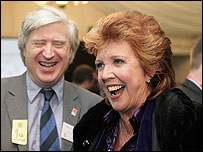 Drummond Bone and Cilla Black