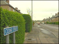 Cedar Street in Grangemouth