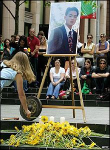 Vigil in Sydney