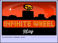 Infinite Wheel website
