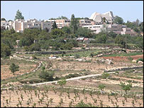 Gush Etzion on the West Bank