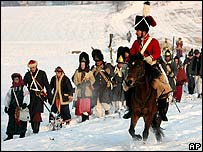 Re-enactment of Battle of Austerlitz