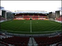 Kaiserslautern's Fritz-Walter-Stadion
