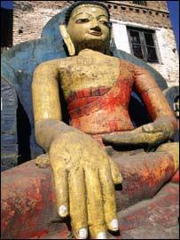Representación de Buda en Nepal