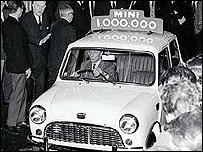 The 1,000,000th Mini is launched in 1959