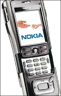 Nokia's N91 handset