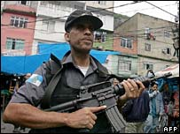 Military police in Rio