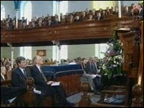 Former political colleagues paid tribute