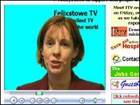 Ruth on Felixstowe TV