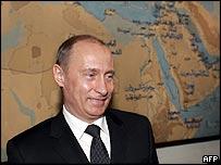 President Putin in Egypt