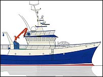 Outline of proposed new inshore vessel