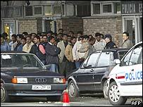 Biriatou border checkpoint