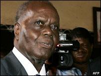 Opposition leader Bob Akitani