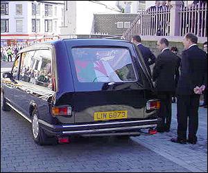 Gwynfor Evans' funeral