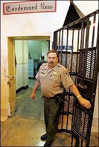 Death row, San Quentin jail, California
