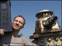 Neil Perryman and Dalek