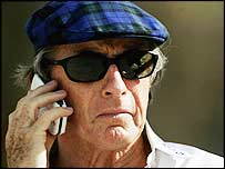 BRDC president Sir Jackie Stewart