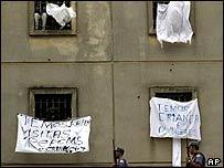 Carandiru Prison, Sao Paulo, Brazil
