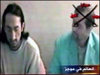 Video grab from al-Jazeera